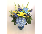 It's A Boy Bouquet in Smyrna GA, Floral Creations Florist