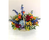 Colors Ablaze in Smyrna GA, Floral Creations Florist