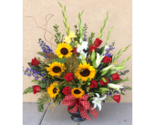 Sympathy Sunflowers in Ammon ID, Petal Passion