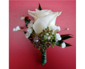 Escimo Rose Boutonniere in Watertown, Wisconsin, Draeger's Floral