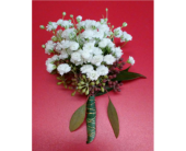 Baby's Breath Boutonniere in Watertown, Wisconsin, Draeger's Floral