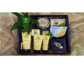 Bee Pampered Spa Crate in Reno NV, Bumblebee Blooms Flower Boutique