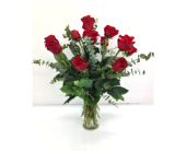 Roses & Eucalyptus in Smyrna GA, Floral Creations Florist