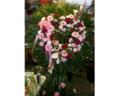 Open Heart- Pink, Red,Lavender and White in Islip NY, Flowers by Chazz