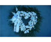 Open Heart- All White in Islip NY, Flowers by Chazz