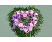 Open Heart- Shades of Lavender and Purple in Islip NY, Flowers by Chazz