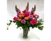 Pink and Orange Paluzza in Belleville ON, Live, Love and Laugh Flowers, Antiques and Gifts