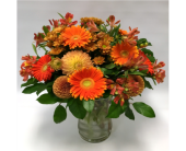 Autumn Orange Delight in Belleville ON, Live, Love and Laugh Flowers, Antiques and Gifts