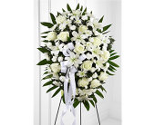 The FTD� Exquisite Tribute Standing Spray in San Antonio TX, Dusty's & Amie's Flowers