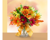Simply Fall Bouquet in Southfield MI, Thrifty Florist