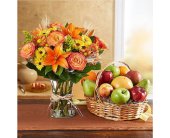 Fanciful Fall Floral & Fruit Bundle in Huntington WV, Archer's Flowers and Gallery