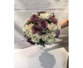 Dusty Purple Bouquet in Kingston, New York, Flowers by Maria