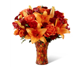 The Autumn Splendor� Bouquet in Chicago IL, Yera's Lake View Florist