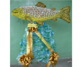 Custom Trout in Islip NY, Flowers by Chazz