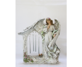 Praying Angel Wind Chime in Westland MI, The Flower Shop
