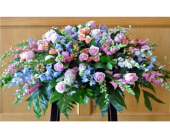 A SOFT SPRING CASKET SPRAY in Waco TX, Reed's Flowers
