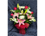 Blooming Romance in Raleigh NC, Gingerbread House Florist - Raleigh NC