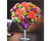 Shocktail Martini Bouquet in Valley City OH, Hill Haven Farm & Greenhouse & Florist