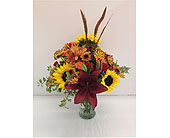 Harvest In Bloom Bouquet in Smyrna GA, Floral Creations Florist