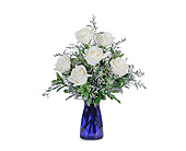 Roses in Blue in Methuen MA, Martins Flowers & Gifts