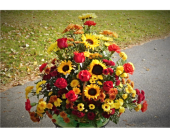 Fall Basket in Skowhegan ME, Boynton's Greenhouses, Inc.
