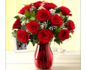 EVERYDAY DOZEN RED ROSE BOUQUET in Columbia TN, Douglas White Florist