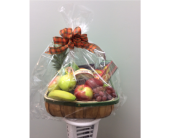 Fall Fruit & Cheese Basket