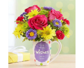 Wishes Mug in Allentown PA, Ashley's Florist