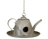 Hanging Teapot Birdhouse in Metropolis IL, Creations The Florist