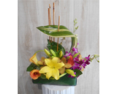 Inspiration by CM in Dallas TX, Petals & Stems Florist
