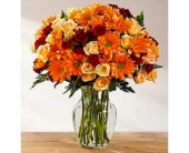 Golden Autumn Bouquet in Cicero NY, Guignard Florist