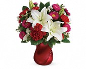 Teleflora's Always There Bouquet in Ormond Beach FL, Simply Roses