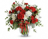 Teleflora's Holiday Shine Bouquet in Ironton OH, A Touch Of Grace