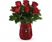 Teleflora's You Are Cherished Bouquet in Reading PA, Heck Bros Florist