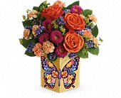 Teleflora's Gorgeous Gratitude Bouquet in Kansas City MO, Kamp's Flowers & Greenhouse