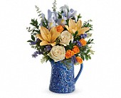 Teleflora's  Spring Beauty Bouquet in San Jose CA, Rosies & Posies Downtown