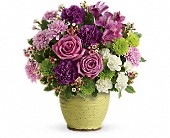 Teleflora's Spring Speckle Bouquet in San Jose CA, Rosies & Posies Downtown