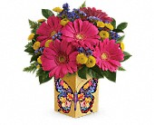 Teleflora's Wings Of Thanks Bouquet in San Jose CA, Rosies & Posies Downtown