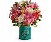 Teleflora's Country Skies Bouquet in Colonia NJ, Vintage and Nouveau