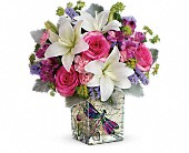Teleflora's Garden Poetry Bouquet in Mississauga ON, Mums Flowers