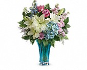 Teleflora's Heart's Pirouette Bouquet in Oklahoma City OK, Array of Flowers & Gifts