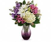 Teleflora's True Treasure Bouquet in Mississauga ON, Mums Flowers