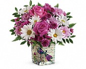 Teleflora's Wildflower In Flight Bouquet in Calgary AB, Michelle's Floral Boutique Ltd.