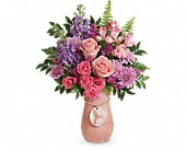 Teleflora's Winged Beauty Bouquet in San Jose CA, Rosies & Posies Downtown