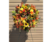 Autumn Cycle Wreath in Smyrna GA, Floral Creations Florist