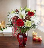 Holiday Tidings Bouquet in Camp Hill and Harrisburg PA, Pealers Flowers