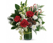 Festive Pines Bouquet in Smyrna GA, Floral Creations Florist