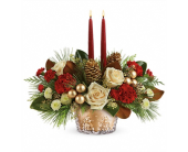 Winter Pines Centerpiece in Smyrna GA, Floral Creations Florist