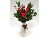 Merry Christmas Berries in Belleville ON, Live, Love and Laugh Flowers, Antiques and Gifts