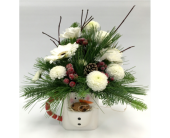 Milk and Cookies - SNOWMAN in Belleville ON, Live, Love and Laugh Flowers, Antiques and Gifts
